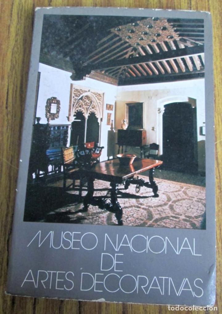 MUSEO NACIONAL DE ARTES DECORATIVAS -- MINISTERIO DE CULTURA - MADRID 1981 (Libros de Segunda Mano - Bellas artes, ocio y coleccionismo - Otros)