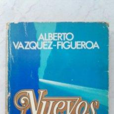 Libros de segunda mano: NUEVOS DIOSES ALBERTO VÁZQUEZ-FIGUEROA. Lote 123337950