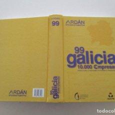 Libros de segunda mano: GALICIA 99. 10.000 EMPRESA. DIRECTORIO E INFORME ECONÓMICO -FINANCIERO. RM86561. Lote 123574935