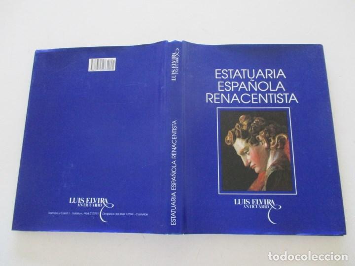 EXPOSICIÓN DE LA ESTATUARIA ESPAÑOLA RENACENTISTA. RM86573 (Libros de Segunda Mano - Bellas artes, ocio y coleccionismo - Otros)