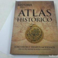 Libros de segunda mano: ATLAS HISTORICO-EDAD MEDIA Y TIEMPOS MODERNOS-HISTORIA NATIONAL GEOGRAPHIC-N. Lote 131783307