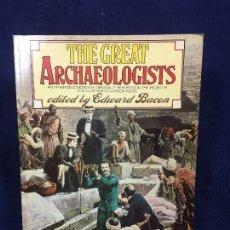 Libros de segunda mano: ARQUEOLOGÍA LOS GRANDES ARQUEÓLOGOS THE GREAT ARCHAEOLOGISTS EDUARD BACON LONDRES 1976. Lote 123982071