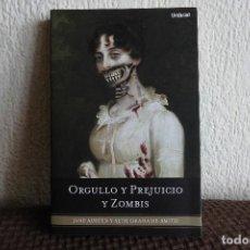 Libros de segunda mano: ORGULLO Y PREJUICIO Y ZOMBIS. JANE AUSTEN/ SETH GRAHAME-SMITH. LIBRO. Lote 124171731