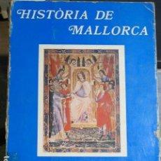 Historia de Mallorca. VV.AA , Editorial Moll, 1982,Volum I