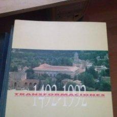 Libros de segunda mano: TRANSFORMACIONES: 1492-1992 : CINCO SIGLOS DE ARQUITECTURA EN ANDALUCIA VÍCTOR PÉREZ ESCOLANO . Lote 124175111