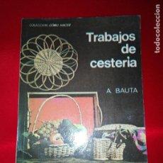 Libros de segunda mano: LIBRO-TRABAJOS DE CESTERÍA-A.BAUTA-ED.KAPELUSZ(ARGENTINA)-1970-PERFECTO ESTADO-COLECCIONISTVER FOTOS. Lote 124236891