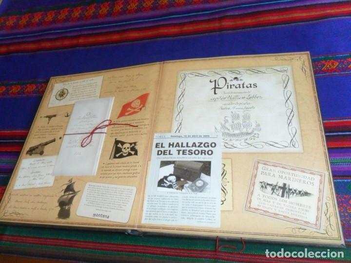 Libros de segunda mano: PIRATAS, DIARIO DE NAVEGACIÓN DE WILLIAM LUBBER. MONTENA 2006. BUEN ESTADO. - Foto 2 - 124429607