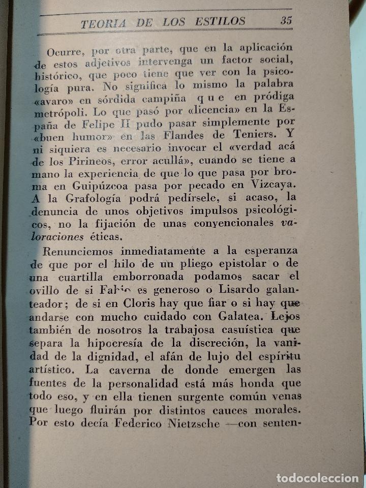 Libros de segunda mano: TEORÍA DE LOS ESTILOS Y ESPEJO DE LA ARQUITECTURA CON 56 ILUSTR - EUGENIO DORS - AGUILAR - MADRID - - Foto 4 - 124490315