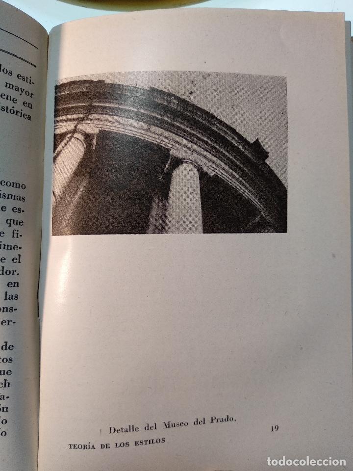 Libros de segunda mano: TEORÍA DE LOS ESTILOS Y ESPEJO DE LA ARQUITECTURA CON 56 ILUSTR - EUGENIO DORS - AGUILAR - MADRID - - Foto 5 - 124490315