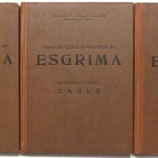 Libros de segunda mano: TRATADO TEÓRICO-PRÁCTICO DE ESGRIMA. - YNGLÉS SELLES, FEDERICO.. Lote 123261638