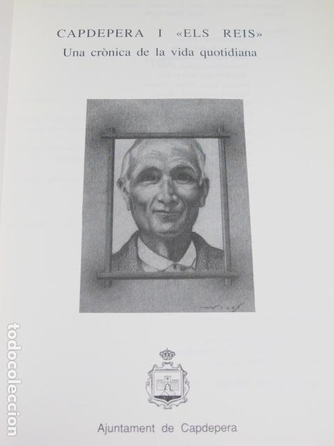 Libros de segunda mano: Capdepera i Els reis. Sebastià Ferrer Pascual, Mallorca, 1990 - Foto 2 - 124650567
