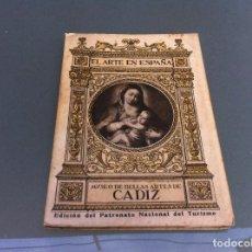 Libros de segunda mano: EL ARTE EN ESPAÑA (MUSEO DE BELLAS ARTES DE CÁDIZ) Nº 27. ED. THOMAS. Lote 124658683