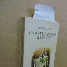 Libros de segunda mano: VIDA DE VARONES ILUSTRES. NEPOTE, CORNELIO. COL. OBRAS MAESTRAS. ED. IBERIA. BARCELONA 1963. Lote 124697939