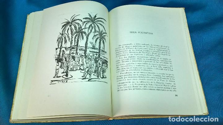 Libros de segunda mano: Libro Efemérides Alicantinas. Jose Tari. 1958 - Foto 3 - 124727903