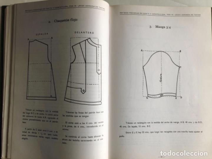 Libros de segunda mano: MÉTODO MODERNO DE CORTE Y CONFECCIÓN, Mª JESÚS ADRADA DE TAPIAS. CASA CENTRAL, BILBAO (1976). - Foto 5 - 124741799