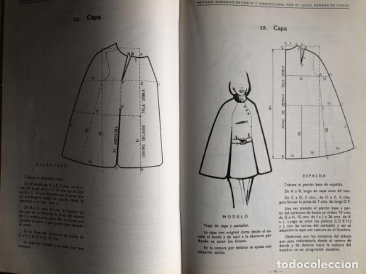 Libros de segunda mano: MÉTODO MODERNO DE CORTE Y CONFECCIÓN, Mª JESÚS ADRADA DE TAPIAS. CASA CENTRAL, BILBAO (1976). - Foto 6 - 124741799