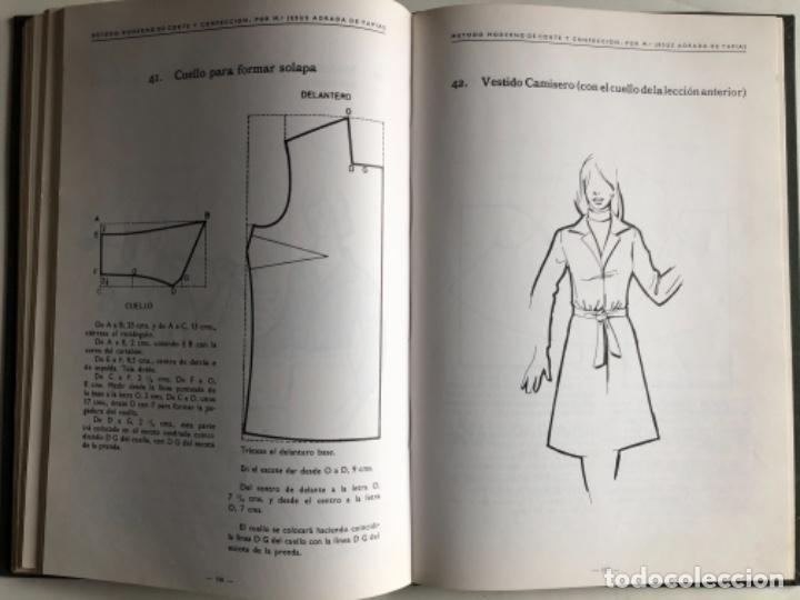 Libros de segunda mano: MÉTODO MODERNO DE CORTE Y CONFECCIÓN, Mª JESÚS ADRADA DE TAPIAS. CASA CENTRAL, BILBAO (1976). - Foto 7 - 124741799