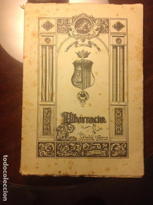 ALBARRACIN. NOTICIAS HISTORICAS DE LA CIUDAD. CANDIDO VAZQUEZ-EVARISTO CAVERO. (Libros de Segunda Mano - Historia - Otros)