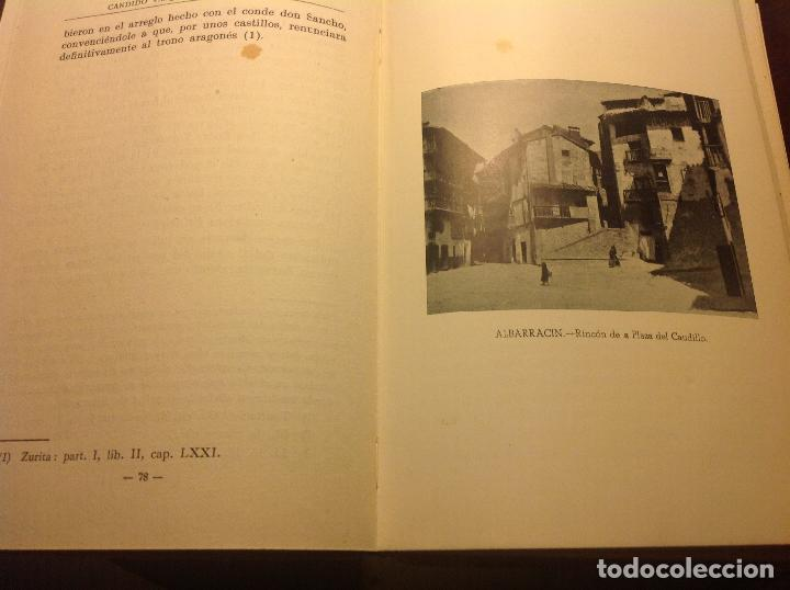 Libros de segunda mano: Albarracin. Noticias Historicas de la Ciudad. Candido Vazquez-Evaristo Cavero. - Foto 5 - 124909007