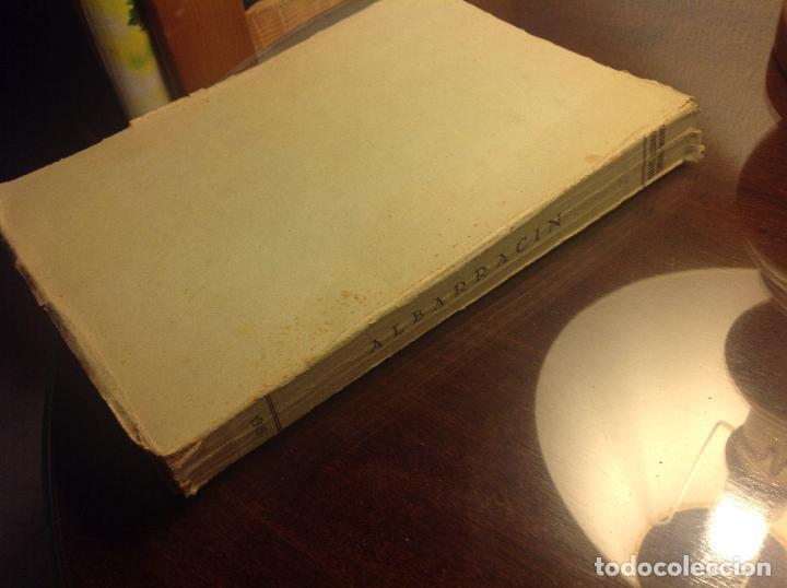 Libros de segunda mano: Albarracin. Noticias Historicas de la Ciudad. Candido Vazquez-Evaristo Cavero. - Foto 7 - 124909007