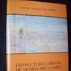 Libros de segunda mano: ESTRUCTURA URBANA DE MEDINA DEL CAMPO, ANTONIO SÁNCHEZ DEL BARRIO.. Lote 125059927
