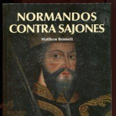 Libros de segunda mano: NORMANDOS CONTRA SAJONES. HISTORIA MEDIEVAL. OSPREY. NUEVO PRECINTADO.. Lote 125081639