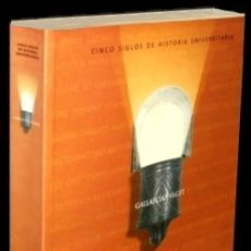 Libros de segunda mano - B350 - SANTIAGO COMPOSTELA. CINCO SIGLOS DE HISTORIA UNIVERSITARIA. Universidad. Coruña. Galicia. - 125184139