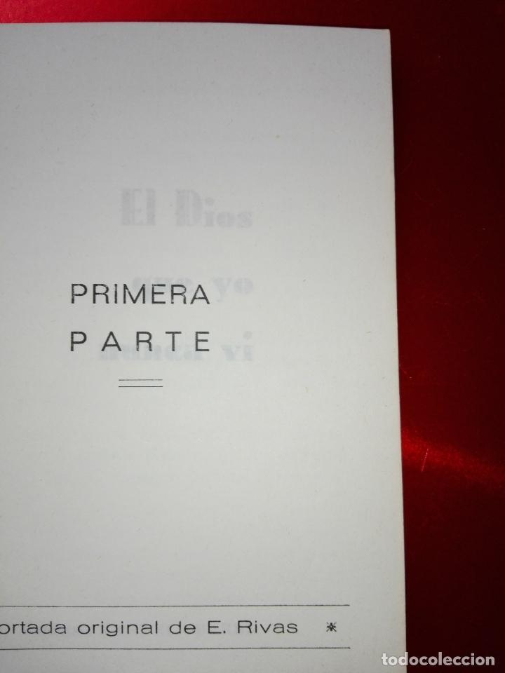 Libros de segunda mano: LIBRO-EL DIOS QUE YO NUNCA VÍ-MANUEL SUARES-PEQUEÑO FORMATO-VER FOTOS - Foto 4 - 125192999