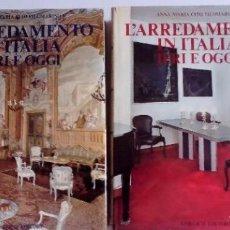 Libros de segunda mano: L´ARRENDAMIENTO IN ITALIA IERI E OGGI 2 VOLÚMENES ANA Mª CITO FILOMARINO GORLICH EDITORE L´ARRENDA. Lote 125207799