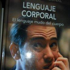 Libros de segunda mano: LEGUAJE CORPORAL, EL LENGUAJE MUDO DEL CUERPO, JOSÉ FRANCISCO GONZÁLEZ, ED. EDIMAT. Lote 125215855