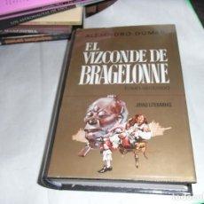 Libros de segunda mano: ALEJANDRO DUMAS, EL VIZCONDE BRAGELONNE, TOMOS I Y II, ED. BRUGUERA. Lote 125262595