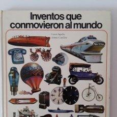 Libros de segunda mano: INVENTOS QUE CONMOVIERON AL MUNDO - VICENTE SEGRELLES - AURIGA. Lote 125289723