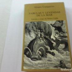 Libros de segunda mano: ÁLVARO CUNQUEIRO - FÁBULAS Y LEYENDAS DE LA MAR - TUSQUETS, 1982 -CCC.. Lote 125319199