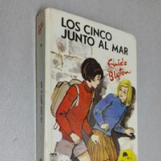 Libros de segunda mano: LOS CINCO JUNTO AL MAR / ENID BLYTON / EDITORIAL JUVENTUD 1972. Lote 125381451