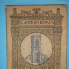 Libros de segunda mano: EL ARTE EN ESPAÑA - PALENCIA - EDICION THOMAS Nº 16 - 1947 - CON 48 ILUSTRACIONES. Lote 125386343