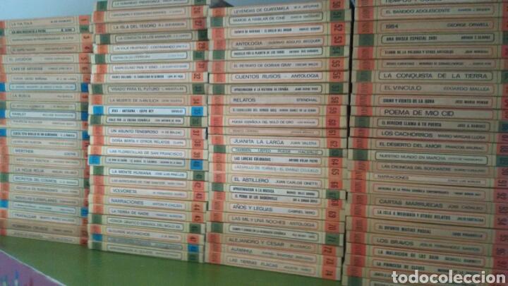 BIBLIOTECA BÁSICA SALVAT DE LIBROS RTV. 100 TÍTULOS. COMPLETA. 1ª EDICIÓN, 1969 (Libros de Segunda Mano (posteriores a 1936) - Literatura - Otros)