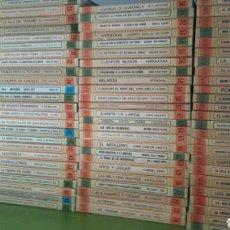 Libros de segunda mano: BIBLIOTECA BÁSICA SALVAT DE LIBROS RTV. 100 TÍTULOS. COMPLETA. 1ª EDICIÓN, 1969. Lote 125387116