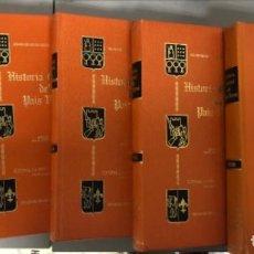 Libros de segunda mano: HISTORIA GENERAL DEL PAÍS VASCO DIRIGIDA POR JULIO CARO BAROJA - TOMOS I, II, III, IV Y V - ED. GRAN. Lote 125412383