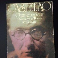Libros de segunda mano: CASTELAO. OBRA COMO. 1. NARRATIVA TEATRO. AREALONGA 12. AKAL EDITOR. 1987. RÚSTICA. PÁGINAS 436. PE. Lote 125413464