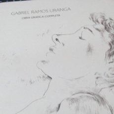 Libros de segunda mano: OBRA GRÁFICA COMPLETA GABRIEL RAMOS URANGA EDIT BBK AÑO 1996. Lote 125417207