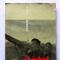 Libros de segunda mano: EL ÁRBOL DE GUERNICA. GEORGE L. STEER. EDICIONES GUDARI 1963. ILUSTRADO. 192 PAGS.. Lote 125471231