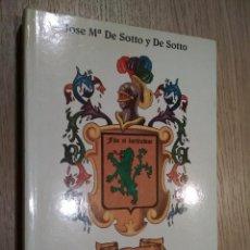 Libros de segunda mano: EL LEON VERDE. JOSE MARIA DE SOTTO Y DE SOTTO. DEDICADO Y FIRMADO AUTOR 1996. Lote 125497159