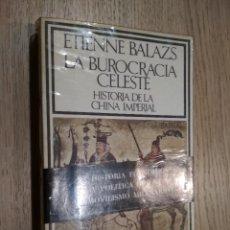 Libros de segunda mano: LA BUROCRACIA CELESTE. HISTORIA DE LA CHINA IMPERIAL. BALAZS, ETIENNE. 1974. Lote 125500795