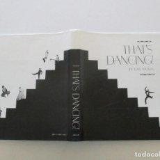 Libros de segunda mano: TONY THOMAS THAT'S DANCING! RM86833. Lote 125615419