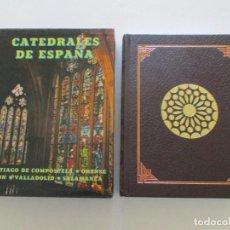 Libros de segunda mano: VV.AA. CATEDRALES DE ESPAÑA I: SANTIAGO DE COMPOSTELA. ORENSE. LEÓN. VALLADOLID. SALAMANCA.RM86846. Lote 125626115