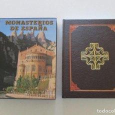 Libros de segunda mano: VV.AA. MONASTERIOS DE ESPAÑA III: SAMOS. POYO.EL PARRAL. SAN JERÓNIMO. MONTSERRAT. LA RÁBIDA.RM86851. Lote 125628907