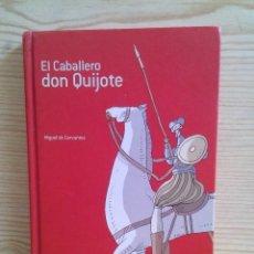 Libros de segunda mano: EL CABALLERO DON QUIJOTE - EDELVIVES. Lote 125864619