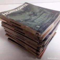 Libros de segunda mano: REVISTA HORIZONTE 10 TOMOS PLAZA. NÚMEROS 3, 4, 5, 6, 7, 8, 10, 11, 15, 16.. Lote 125865179