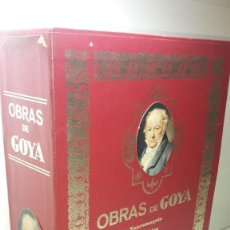 Libros de segunda mano: OBRAS DE GOYA DE ANTONIO DE HORNA. (EJEMPLAR NUMERADO) 8 TOMOS.. Lote 125873495