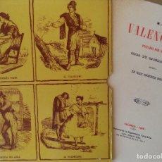 Libros de segunda mano: LOS VALENCIANOS PINTADOS POR SI MISMOS.FACSIMIL DE LA OBRA DE 1859 BUEN ESTADO CON ESTUCHE. Lote 125888467